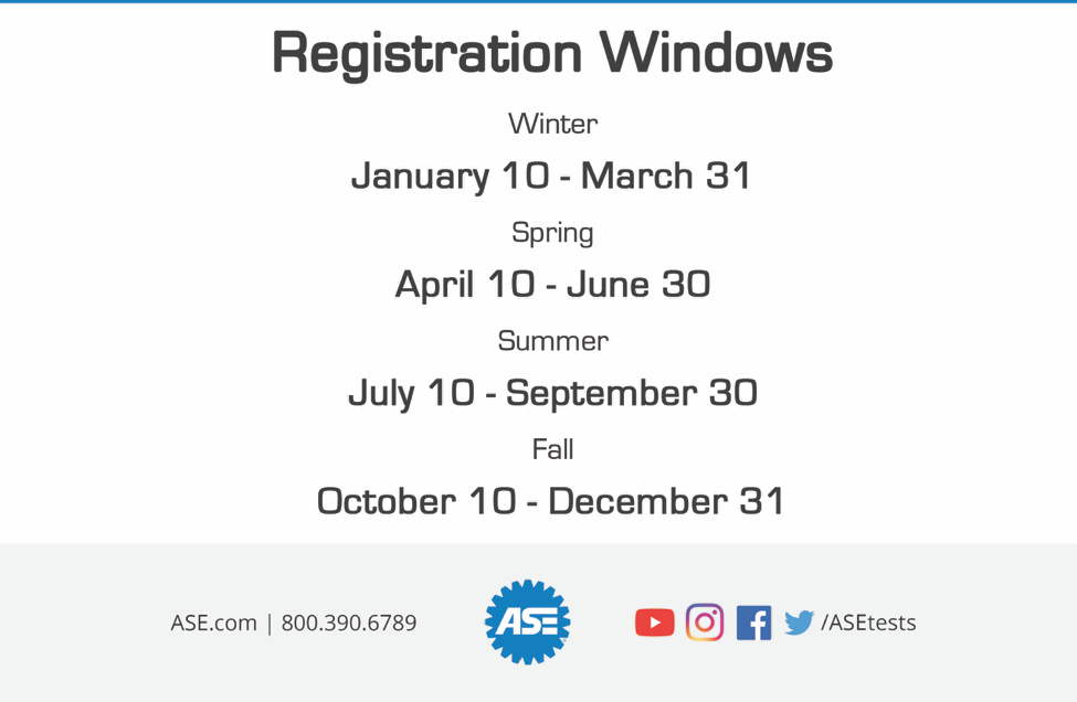ASE Registration Poster 2020