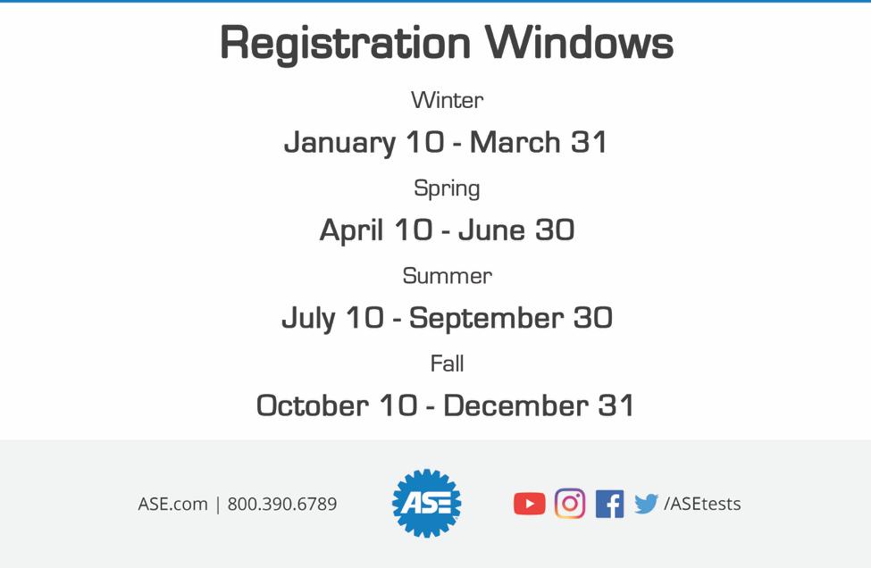ASE Registration Poster 2020