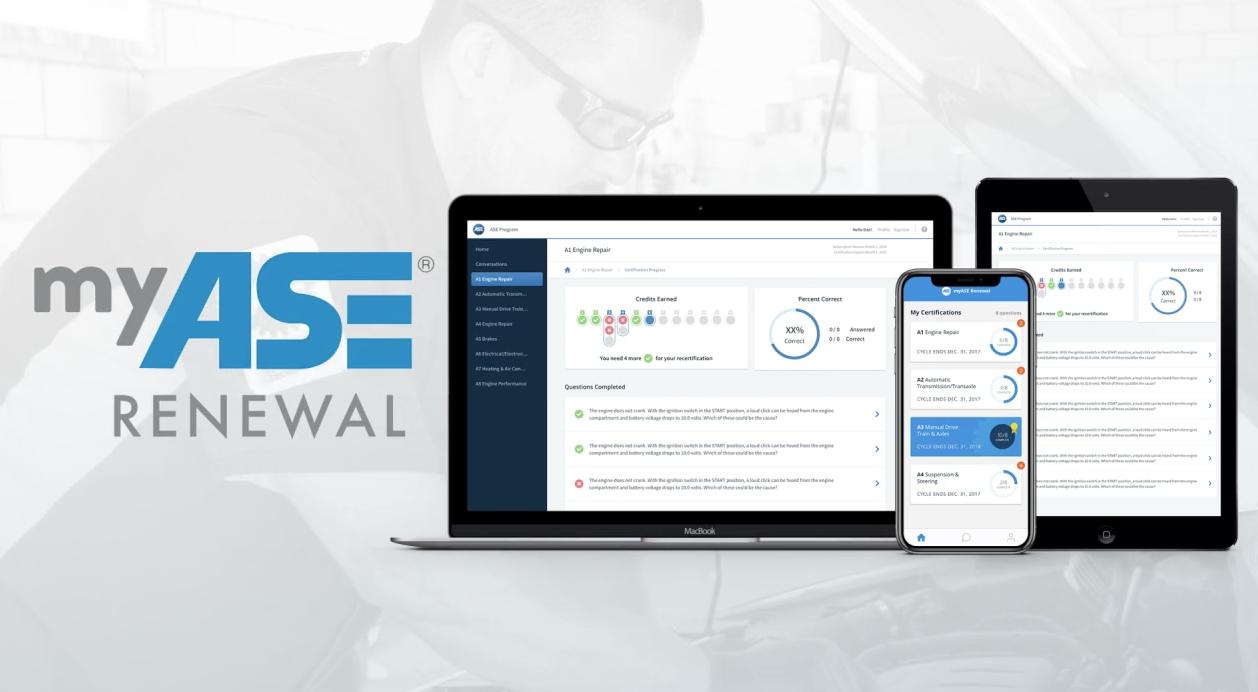 ASE Renewal App
