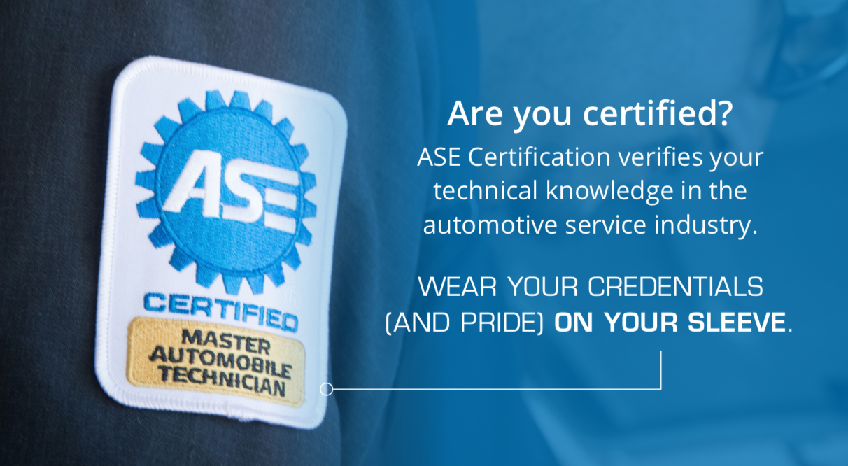 ASE Certification Test Registration Poster