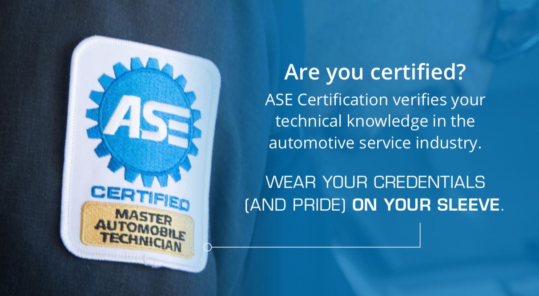 ASE Certification Test Registration Poster